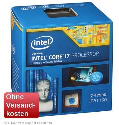 Intel Core i7-4790K  319 € @zackzack.de