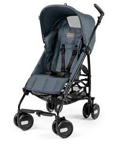 [amazon.it] Peg Perego Pliko Mini Classico Passeggino, Blu (Blue Denim)