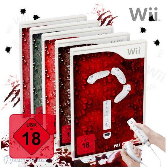 [Konsolenkost] Nintendo Wii Wundertüte - 5 original Wii-Spiele (gebraucht) USK18 für 15,98€ inkl. Versand (3,20€/Spiel)