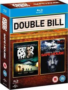 Safe House + Zero Dark Thirty (Blu-ray) für 7,52€ bei Zavvi