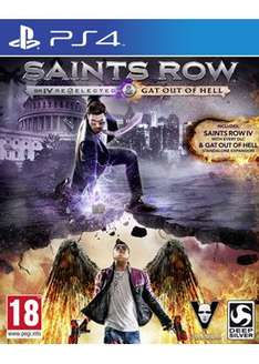 Saints Row IV: Re-elected + Gat Out of Hell (PS4) für 16,67€ bei Base.com