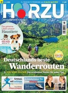 Jahresabos von diversen TV Zeitschriften (z.B.Hörzu 3€, TvMovie 4,50€)