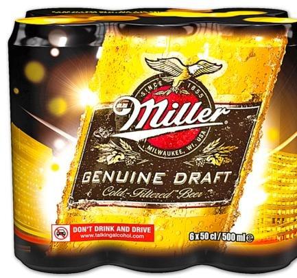 Miller US-Bier 6x0,5 Liter Dosen bei Penny für 4,99€ + 1,50€ Pfand