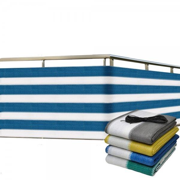 [eBay-WOW] Balkon-Sichtschutz 500x90 cm Balkonverkleidung 12,99€