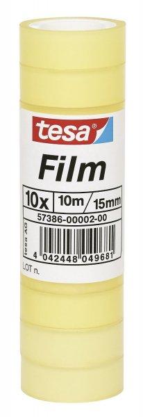 [Amazon Prime] Tesafilm Klebeband, Großrollen, Standard, 10 Rollen, 10m x 15mm