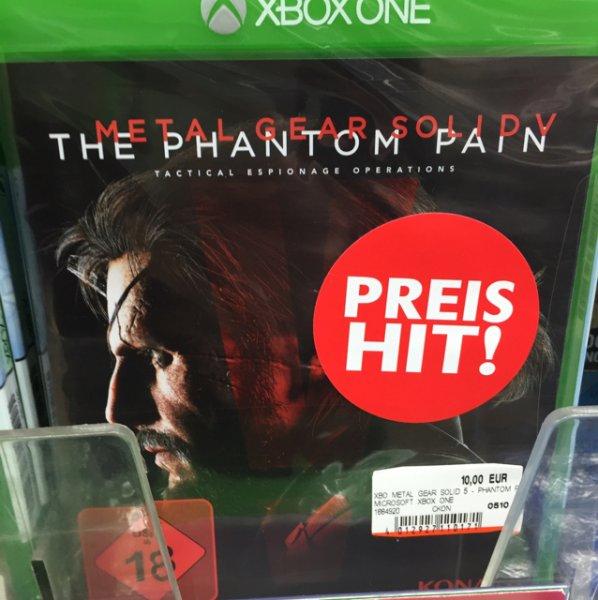 [lokal Berlin] Media Markt im Alexa Metal Gear Solid 5: The Phantom Pain (Xbox One) für 10€ statt ca. 25€