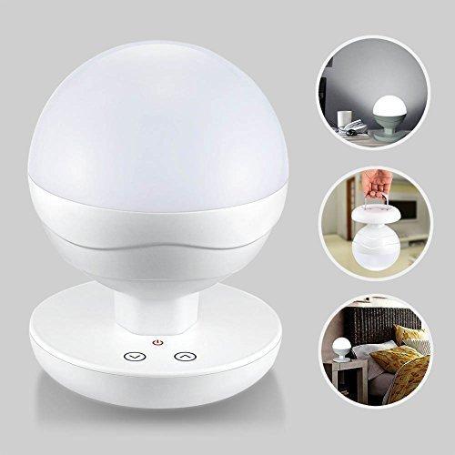 @Amazon: Tragbare, aufladbare, dimmbare LED Lampe (Tischleuchte, Nachtlampe, Arbeitslampe) für 21,59€ mit Prime
