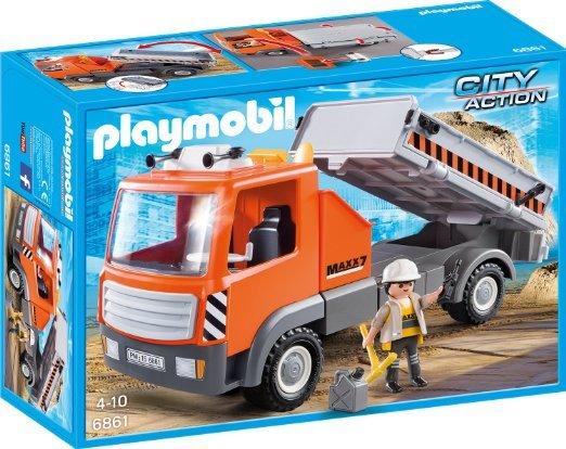 Playmobil 6861 Baustellen Laster für 9,94€ @Amazon Prime