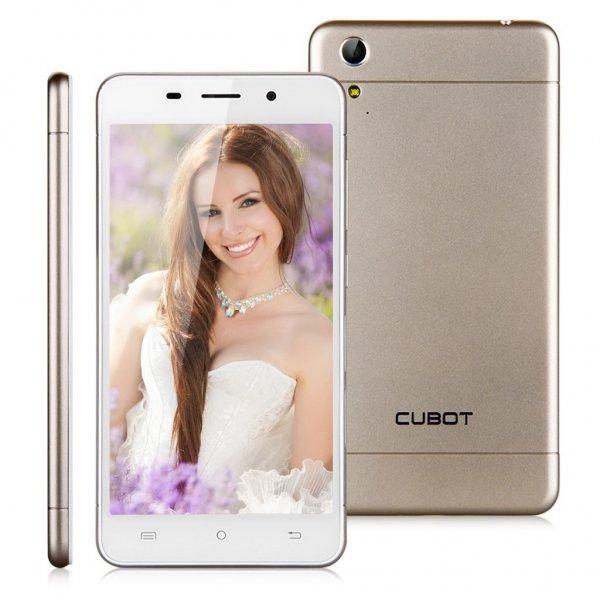 [Amazon.de Marketplace] CUBOT X9 Octa Core MTK6592 Dual SIM 2G+16G 3G-Smartphone 5,0 Zoll HD IPS Screen Android 4.4 Gold o. Schwarz für 52,49€ inkl. Versand durch Amazon