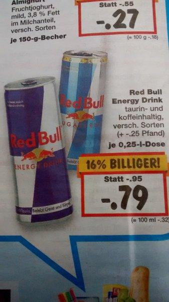 [Kaufland bundesweit] Red Bull 250ml für 0,79€