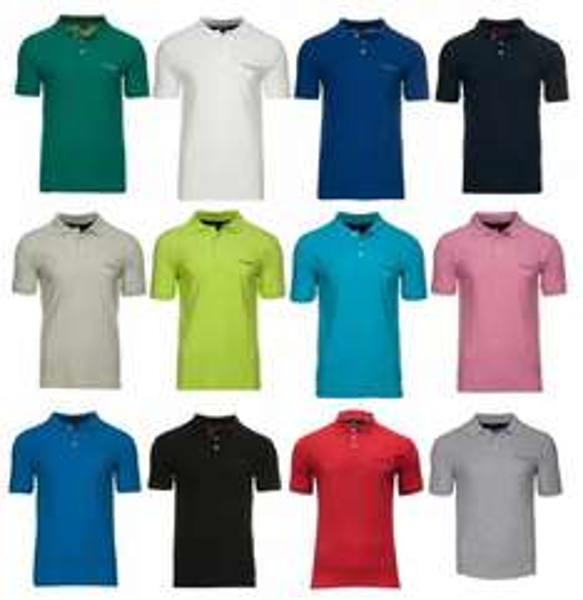 (eBay WOW) NEU PIERRE CARDIN Herren Polo-Shirts 11 Farben