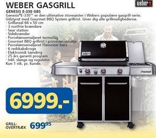 Lokal : Weber Genesis E-330 GBS aus Dänemark (Davidsen)