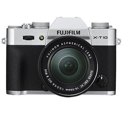 [Amazon.de] Fujifilm X-T10 Systemkamera inkl. Fujinon XC 16-50 mm Objektiv (Silber) für 547,58 (100 EUR Sofort-Cashback eingerechnet)
