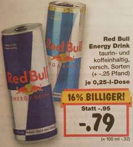 RedBull Kaufland