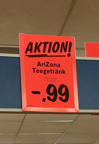 [lokal: Lichtenfels] LIDL Arizona Iced Tea 1l 0.99€