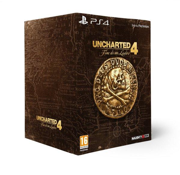 [amazon.it] Uncharted 4 - Libertalia Collector's Edition [PS4] für 130,51€ inkl. Versand [Vorbestellung]