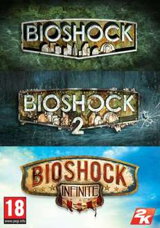 [Gamesplanet / Steam] Bioshock Triple Pack für 7,63€