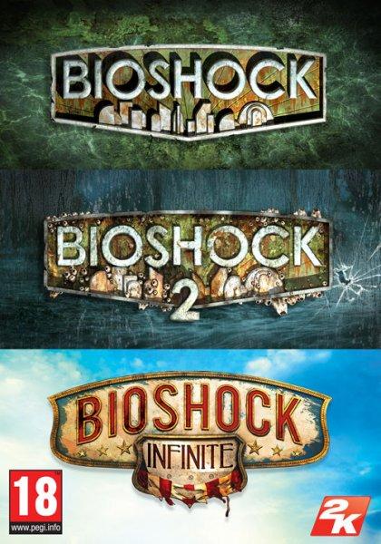 [Gamesplanet / Steam] Bioshock Triple Pack für 7,63€