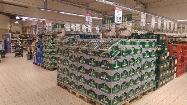Beck's Bier 24x0,33l / 20x0,5l für 10€ bei REWE ab Montag
