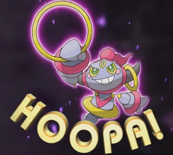 """Das Mystische Pokémon """"Hoopa"""" gratis"""