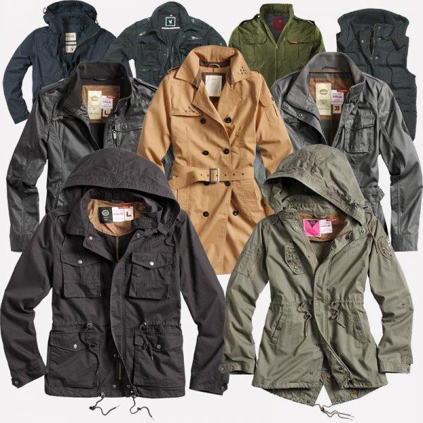 [ebay] SURPLUS Raw Vintage Military Function Outdoor Jacke Übergang - Herren / Damen