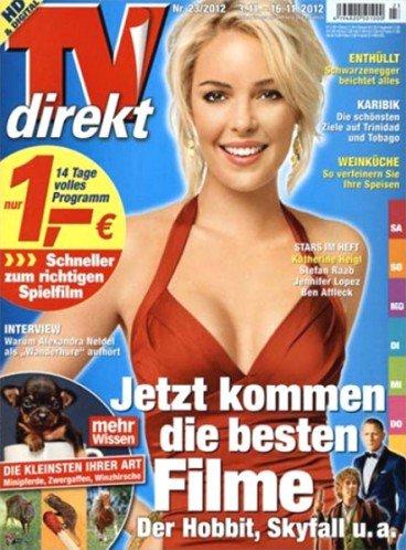 """Sammeldeal: TV Zeitschriften mit """"Effektivgewinn"""" (TV Digital XXL, TV Direkt XXL, TV für mich, Hörzu)"""