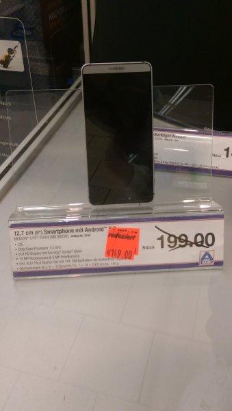 "Medion 5"" Smartphone MD99238 effektiv 139€ statt 199€ Aldi (Dortmund Lokal) 1.5. Ghz OctaCore HD GorillaGlas 13MP"