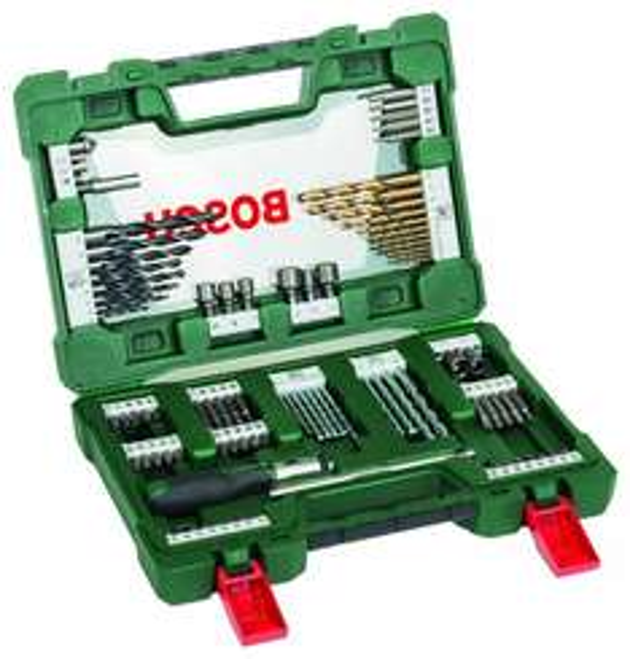 [Amazon - Prime] Bosch 91-teiliges V-Line Titanium-Set zum Bohren und Schrauben, inkl. Ratschen-Schraubendreher für 24,91 Euro inkl. Versand