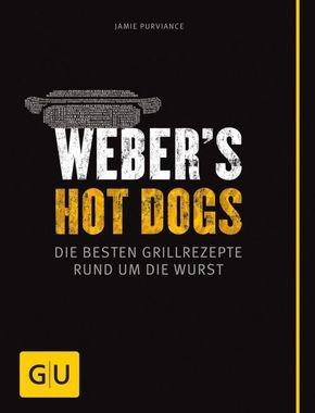 Reduzierte Koch- und Grillbücher versandkostenfrei bei Terrashop, z.B. Weber's Hot Dogs für 7,99€