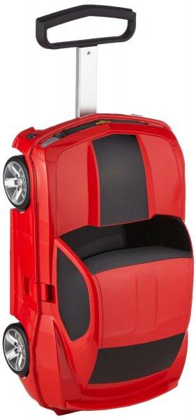 Pupsi auf Reisen - Kinderkoffer im Rennwagendesign von Haupstadtkoffer für 51 € [Amazon]