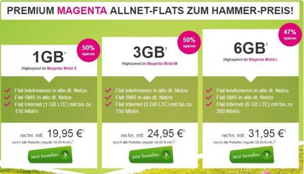 Premium Magenta ALLNET-FLATS Zum HAMMER-Preis!