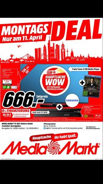 Samsung UE 55 J 6150 + Bluray Player + Gatsby BRD