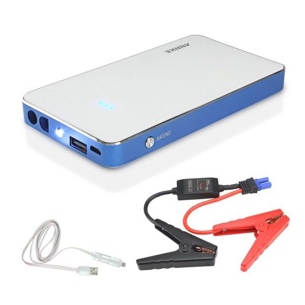 [Amazon-Blitzangebot] Auto Starthilfe 8000mAh 300A Spitzenstrom 180A Starterstrom Autobatterie für 31,99 Euro inkl. Versand.