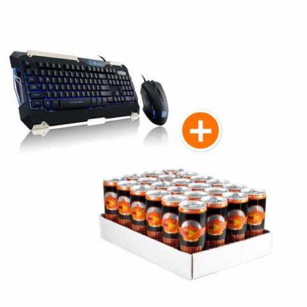 Thermaltake Maus+Tastatur+Tray Raubtierbrause