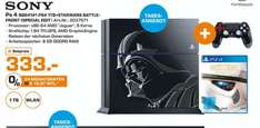 [Lokal Saturn Paderborn/Tagesangebot 10.04] Sony Play­Sta­ti­on 4 1TB Star Wars Batt­le­front Li­mi­ted Edi­ti­on (PS4) (CUH-1216B) für 333,-€