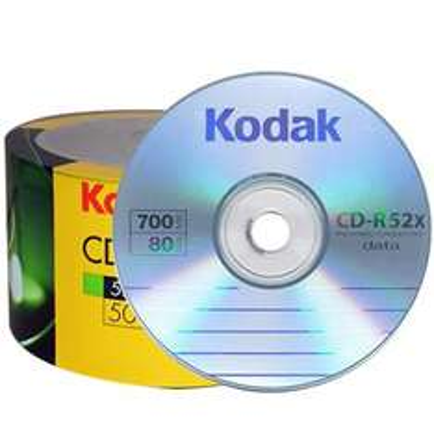 Kodak CD-R 700 MB gelabelt- 52x - 50 Stück - 1,99 EUR !!