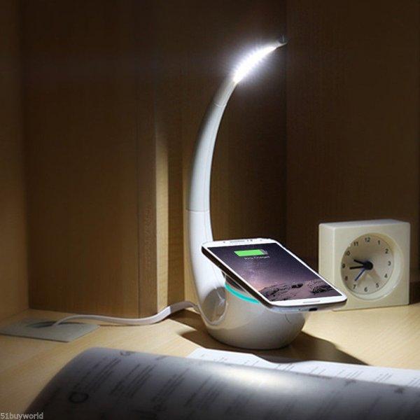 "[Ebay] Nillkin ""Phantom"" 2 in 1 dimmbare Lampe und Qi-Ladestation (inkl. USB-Anschluss) für 21,97 €"