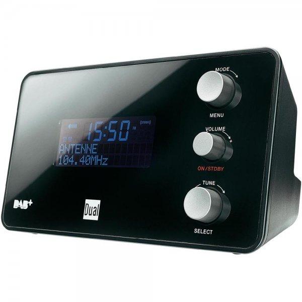 Dual DAB CR 25 Radiowecker (DAB+/ UKW-Radio, Senderspeicherfunktion, Snooze-Funktion, 2 Weckzeiten, Sleeptimer, Datumsanzeige, Kopfhöreranschluss) für 44,44€ bei Conrad.de