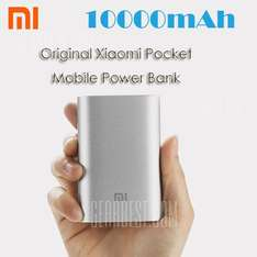 [Gearbest] Original XIAOMI 5.1V 2.1A 10000mAh Power Bank
