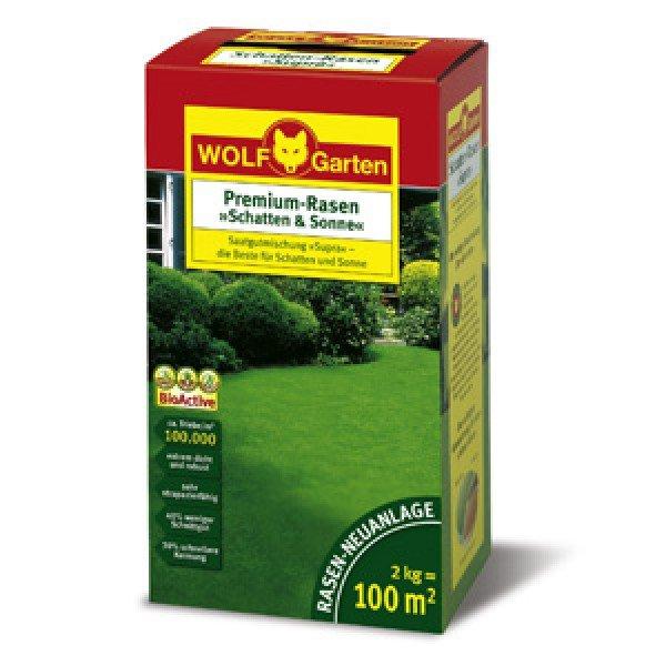 Wolf-Garten Premium-Rasen Schatten & Sonne LP 100 [Comtech] für 29,90€