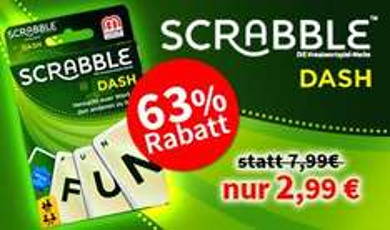 [Spiele-Offensive] Scrabble Dash | 34% Ersparnis | Brettspiel | Gesellschaftsspiel