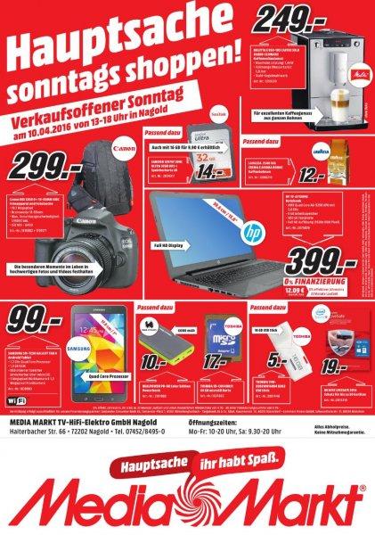 MediaMarkt Nagold / verkaufsoffener Sonntag / diverse gute Angebote