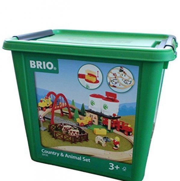 Brio 33135 Großes Countryside Set mit Silo