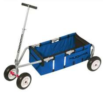 """[babymarkt.de] Tagesangebot Handwagen / Bollerwagen: Hudora Überländer, 10"""", blau für 175,49€ statt 215€"""