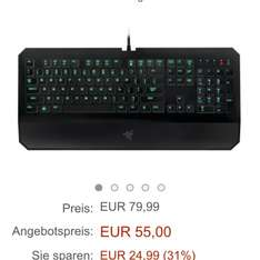 [Amazon Blitzdeal] Razer Deathstalker