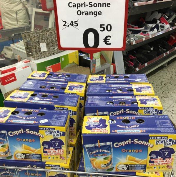 Capri Sonne Orange GANZE Packung nur 50 Cent!!!