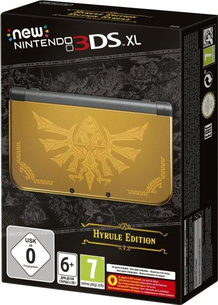 "[Amazon] Nintendo New 3DS XL ""Hyrule Edition"" für 175€"
