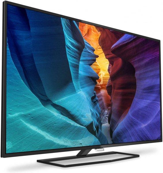 [Mediamarkt] Philips 40PUK6400/12 Smart TV (40'' UHD Edge-lit Dimming, 700Hz, 300cd/m², Triple Tuner, 4x HDMI 2.0, 3x USB mit PVR, Wlan + LAN, Smart TV mit Android 5.1, EEK A+) für 399€