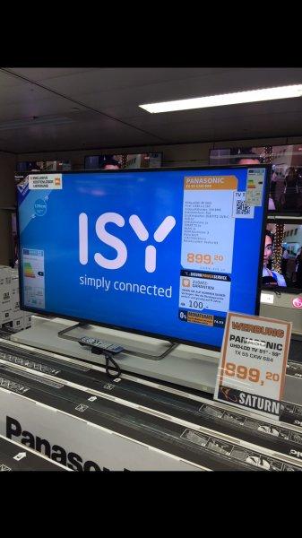 Panasonic 55 CXW 684 TV Ultra HD Fernseher 20. Jubiläum