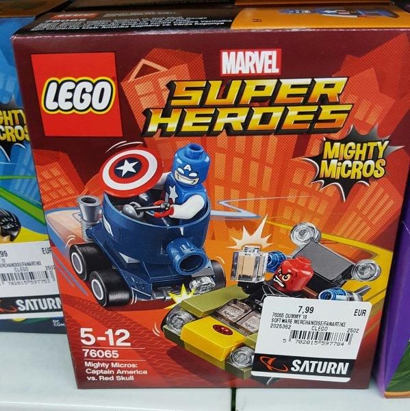 [Saturn Berlin Kudamm] LEGO Mighty Micros 76061 bis 76066 für je 7,99€ -  auch Star Wars Sets + Lego Dimensions Fun Packs reduziert